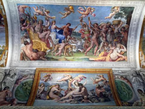 Palazzo Farnese, ecco la Galleria Carracci restaurata (FOTO)