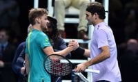 Tennis, Atp Finals; impresa Goffin: batte Federer ed ? in finale