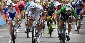 Tour, Sagan fa tripletta. Thomas resta in giallo