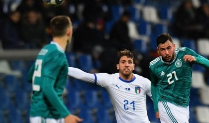 Under21, Italia-Germania 1-2: illusione Parigini, poi decide Waldschmidt